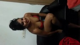 Indian college teacher removing her clothes and getting fucked